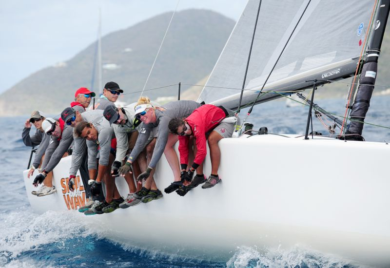 Smile and Wave are Full On at BVI Spring Regatta