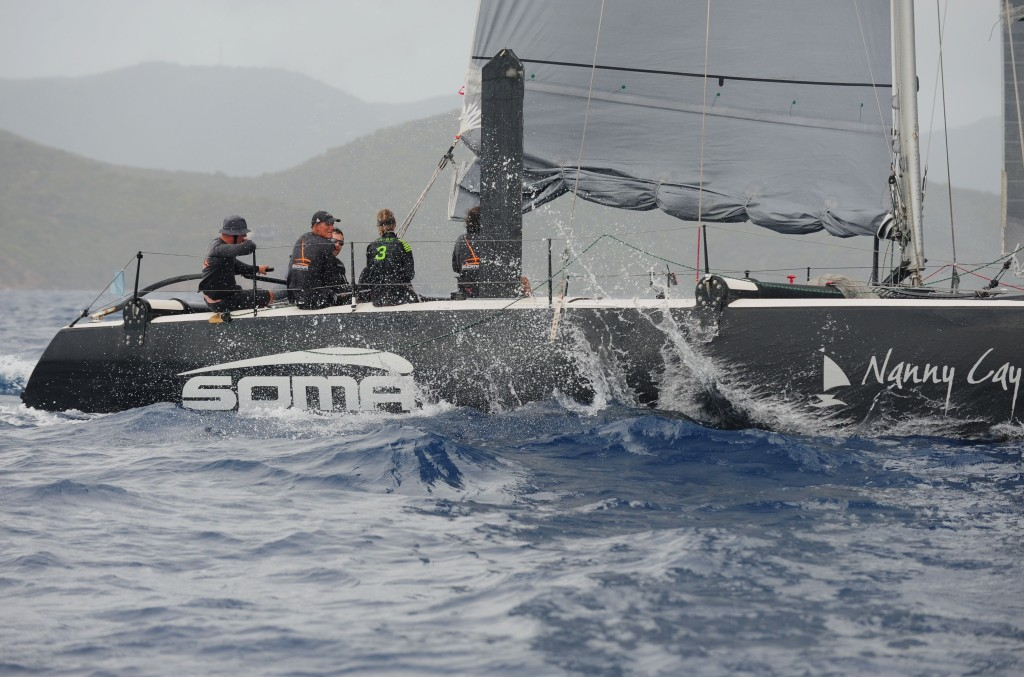 """It was a fantastic regatta, we had a little bit of everything breeze-wise so we couldn't have asked for a better time,"" Erickson said skipper of Soma."
