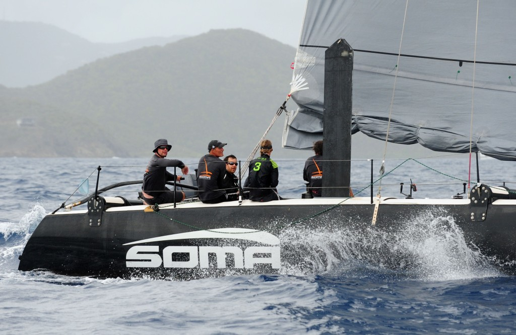 Nils Erickson's Formula 40, Soma racing in the CSA Multihull class
