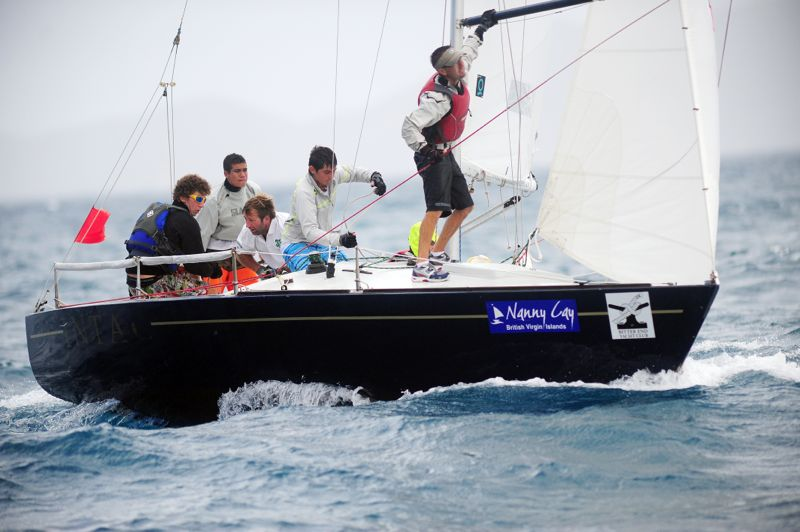INTAC, skippered by Royal BVI Yacht Club 16-year-old Jason Putley