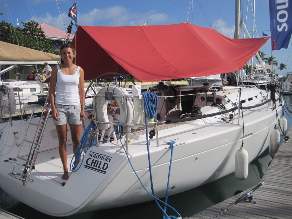 Lucy Jones, owner of the Swan 51 Northern Child & the Beneteau First 40 Southern Child