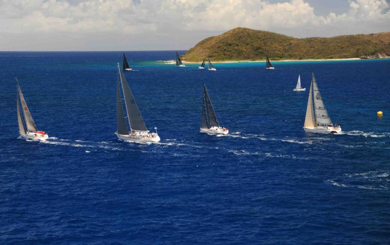 Enjoying the wonderful playground of the BVIs © Todd VanSickle/BVI Spring Regatta