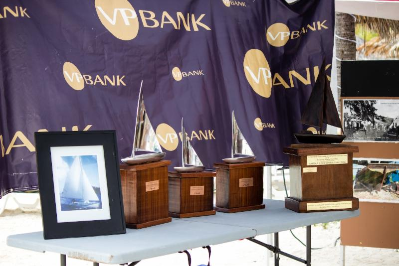 Prizes for the winners in the VP Bank Tortola Sloop Spring Challenge © Luke Pelican/BVI Spring Regatta