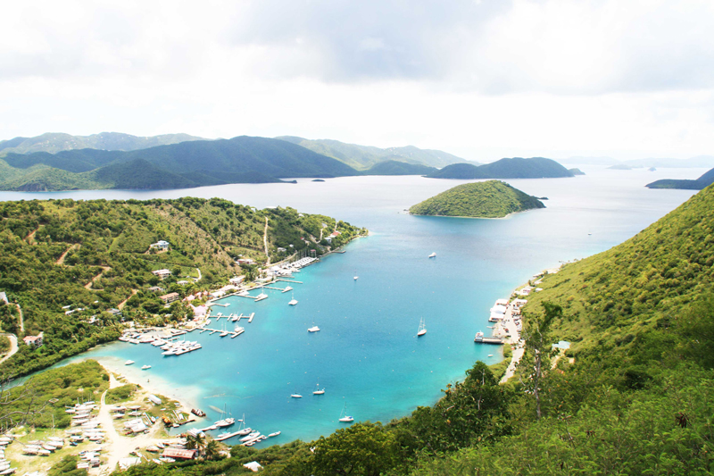 Soper's Hole, West End, Tortola.  Photo: BVI Tourist Board