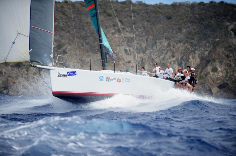 TP52 Team Varg/Conviction, skippered by Ola Hox was the winner of the third and final race of the day  © Todd VanSickle/BVI Spring Regatta