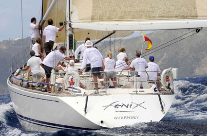 Richard Baldwin's Swan 60, Fenix Racing in Class 7 Credit: ©Todd VanSickle/BVI Spring Regatta & Sailing Festival