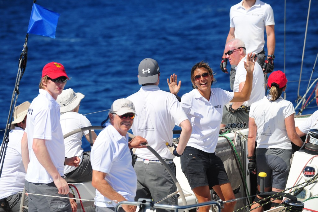 Tony Mac's Team McFly - Southern Child celebrate their class win in CSA Racing 2 © Todd VanSickle
