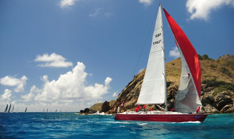 Ross Applebey's Oyster 48, Scarlet Oyster was the winner of Performance Cruising 1 © Todd VanSickle/BVISR