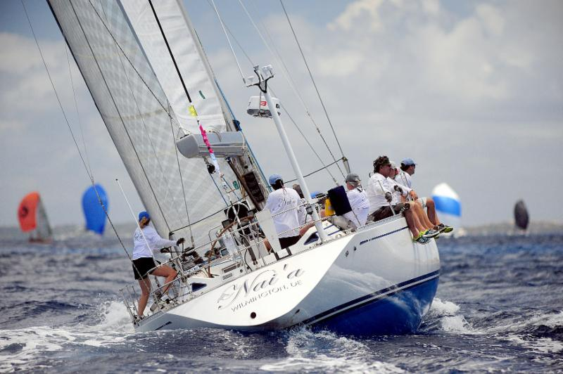 Bob Beltrano's Swan 53, Nai'a was the winner in CSA Jib & Main scoring © Todd VanSickle/BVISR