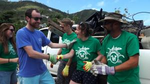 BVI Wombles welcome credit- T2PTV Ashley Love