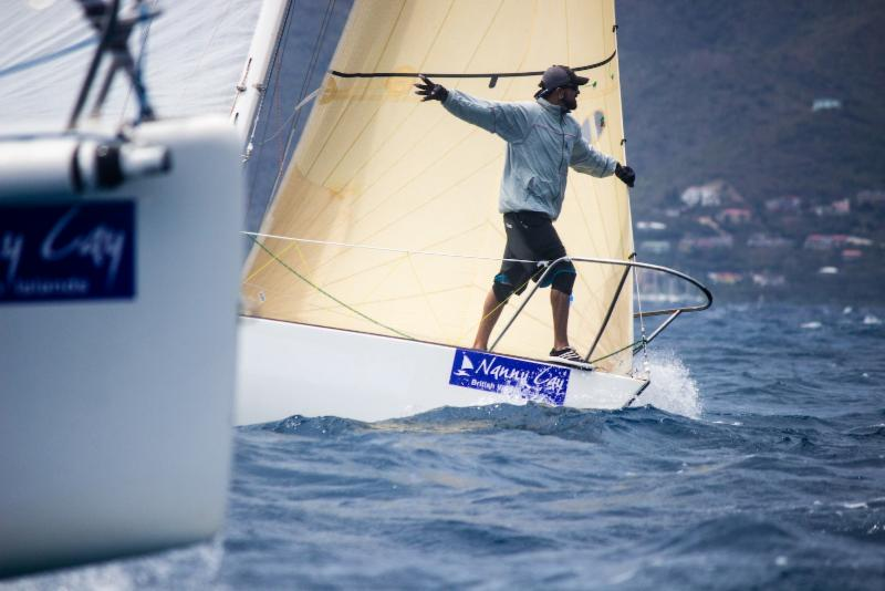 A fantastic day on the water on day one of the BVI Spring Regatta © Luke Pelican/BVI Spring Regatta